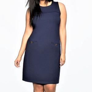 46c2e96f025e1 Eloquii Dresses | Studio Collared Sequin Tee Shirt Dress | Poshmark